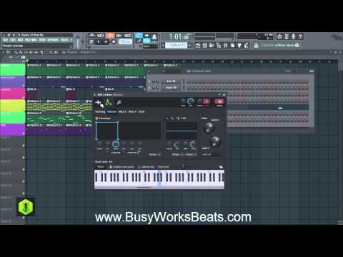 FL Studio 12 Trap Beat Tutorial  Part 4 Bass