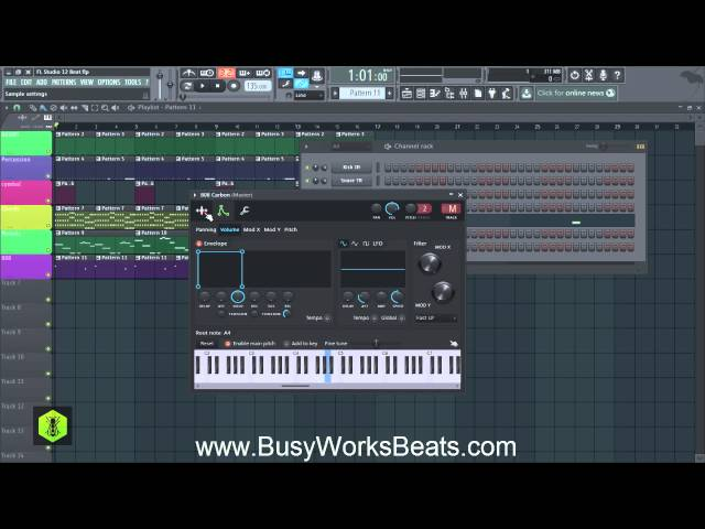 FL Studio 12 Trap Beat Tutorial | Part 4 Bass
