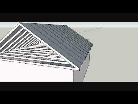 Вариант подсчета крыши №1