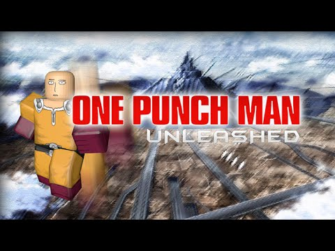 Roblox How to level up fast on one punch man unleashed  YouTube