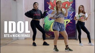 BTS (방탄소년단) 'IDOL' ft. NICKI MINAJ | Alan Rinawma Dance Choreography