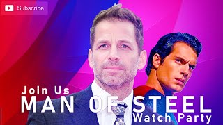 Zack Snyder Man Of Steel Watch Party