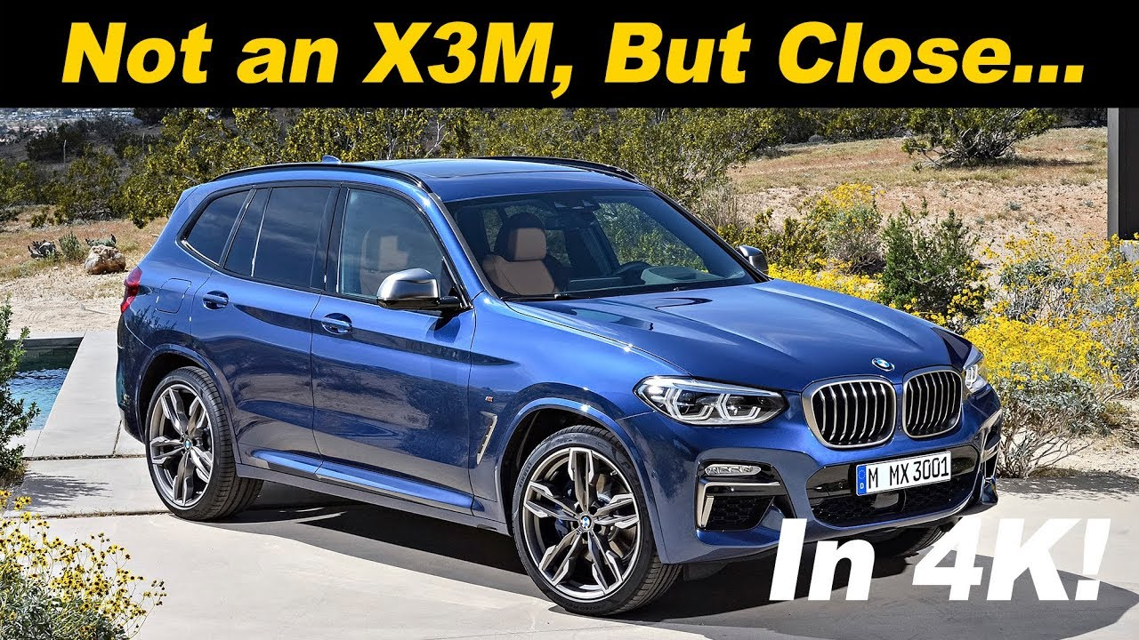 2019 Bmw X3 M40i X3 Finally Gets M Power Youtube