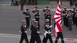 "自衛艦旗の重い位置付け/ ""The Rising Sun Flag"" of Japanese Navy is not just a flag"