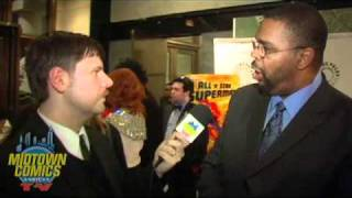 All-Star Superman Premiere w/ Christina Hendricks, Dwayne McDuffie & Andrea Romano