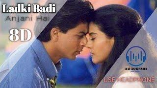 8D SONG | Ladki Badi Anjani | Shahrukh Khan & Kajol | kumar Sanu & Alka Yagnik | kuch kuch hota hai