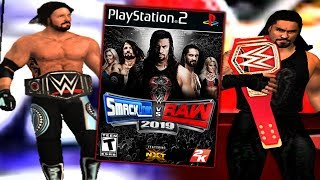WWE 2K19 On PS2! (FAKE)
