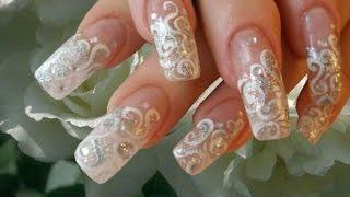 Свадебный маникюр - 50 идей дизайна ногтей!(, 2014-08-04T22:01:52.000Z)