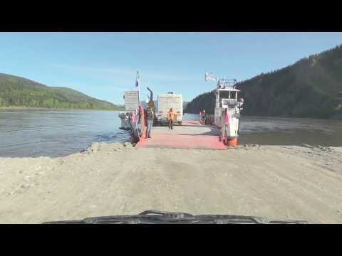 Road Trip To Alaska Crossing the Yukon River