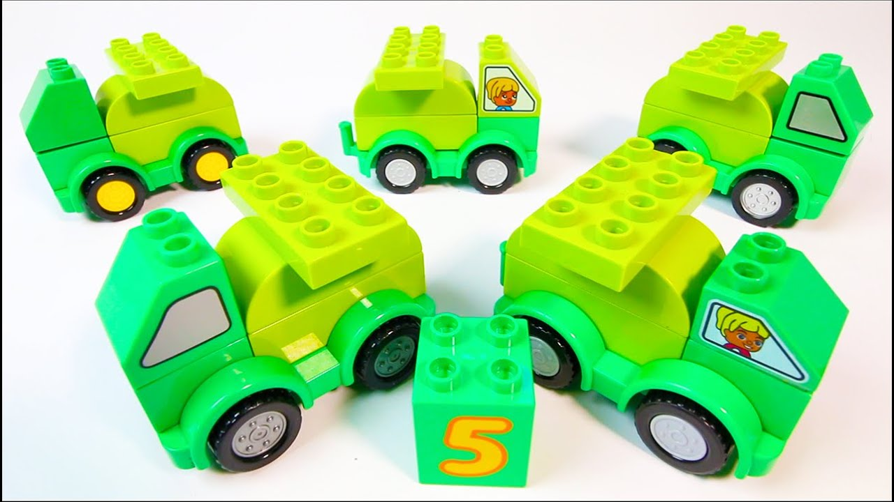Colorful Building Blocks Toys for Children - 30 Mins of Vehicles