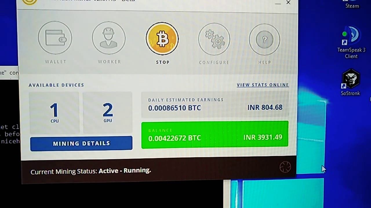 cryptocurrency mining with xbox one