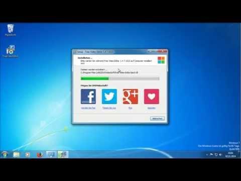Windows - Free Video Dub/Editor Installation