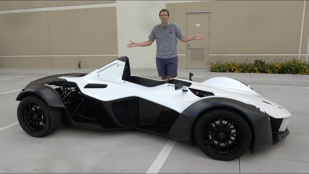 The BAC Mono Is a Crazy $250,000 Street-Legal Race Car
