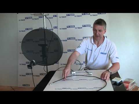 how to connect outdoor cable tv in digiwave dgms-3401