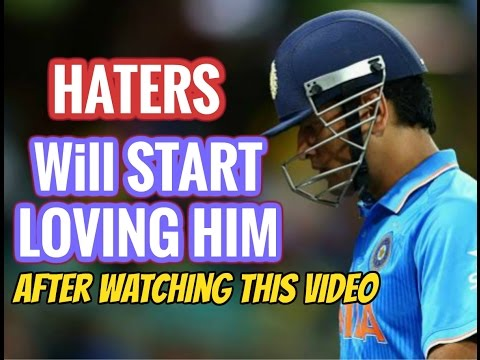 MS Dhoni HATERS STARTED LOVING HIM AFTER WATCHING this Video