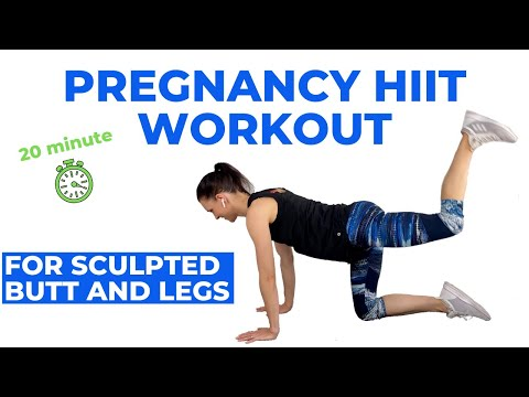 Pregnancy Leg Workout (Leg and Booty Sculpting) Safe for all trimesters