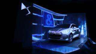 Carmapping Citroen DS5 - 3D Projection mapping on real car - Video Mapping Hungary