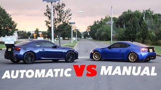 WHATS FASTER? AUTOMATIC VS MANUAL