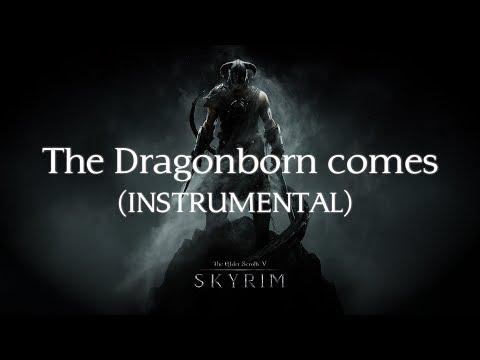 MoonSun - The Dragonborn comes Instrumental (Skyrim Cover) with lyrics