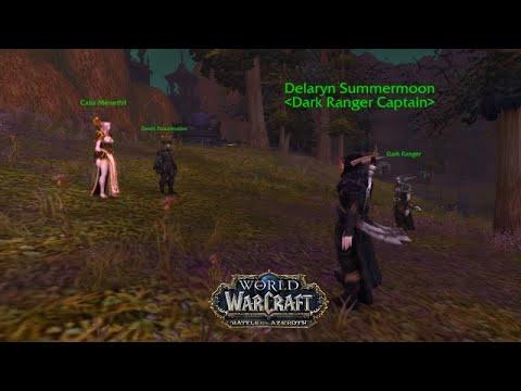 New Leader Of Forsaken Calia Menethil - Visions Of N'Zoth 8.3