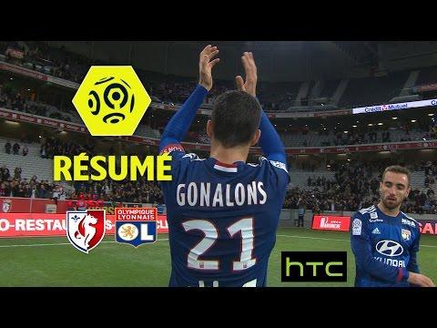LOSC - Olympique Lyonnais (0-1)  - Résumé - (LOSC - OL) / 2016-17