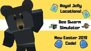 Roblox Bee Swarm Simulator ~ Royal Jelly Locations & New Code!!