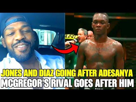 Jon Jones And Nate Diaz Going AFTER Israel Adesanya POST UFC 259, Conor McGregor Gets Heat, Petr Yan