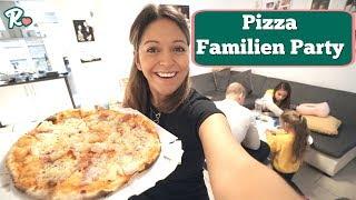 Familien Pizza Party Freitag - Kürbis Schnitzen - Vlog#1046 Rosislife
