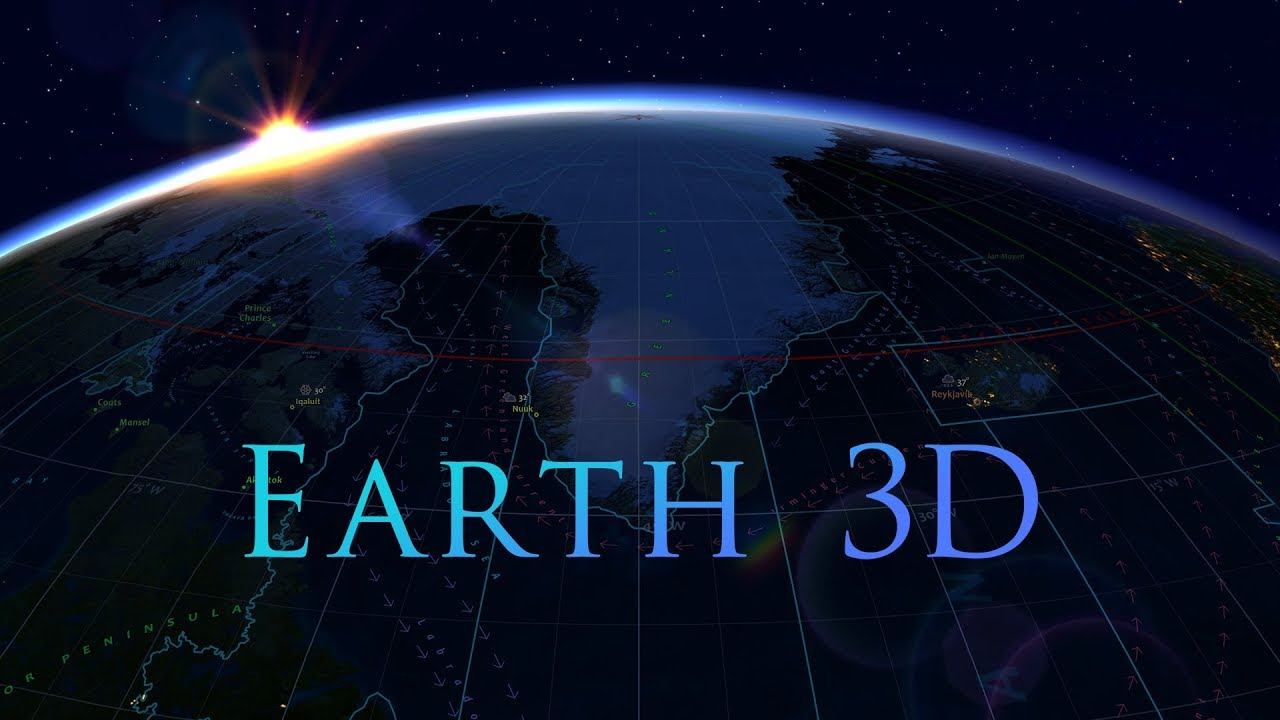 Earth 3D Live Wallpaper and Screensaver - YouTube