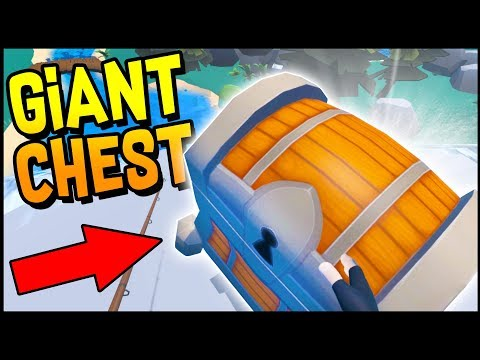 UNLOCKING THE GIANT SECRET CHEST! - Crazy Fishing Gameplay - HTC Vive VR