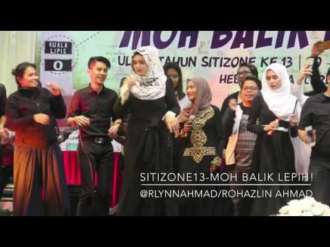 Kisah Aku, Dia dan Lagu & Bosanova - Dato' Siti Nurhaliza feat. Adik dan Sepupu - [SITIZONE13]