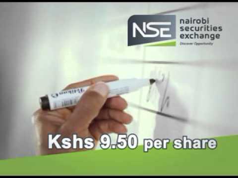 The Nairobi Securities Exchange IPO launch