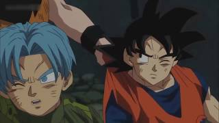 DBS Yajirobe Salva a Goku y Trunks