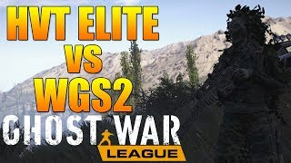 Ghost War League Match | HVT ELITE vs WGS2 | Ghost Recon Wildlands PVP Ghost War League