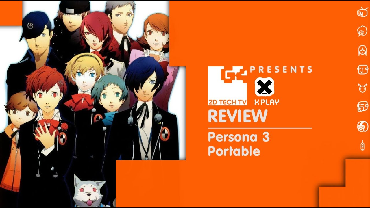 X-Play Classic - Persona 3 Portable Review