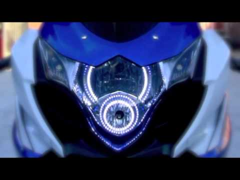 Suzuki Gsxr 600 >> ORACLE Custom LED Lighting Halos on Suzuki GSXR1000 by Advanced Automotive Concepts - YouTube