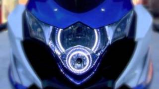 Custom Dual SMD Headlight Halo Setup with LED Strip Lighting and Po...
