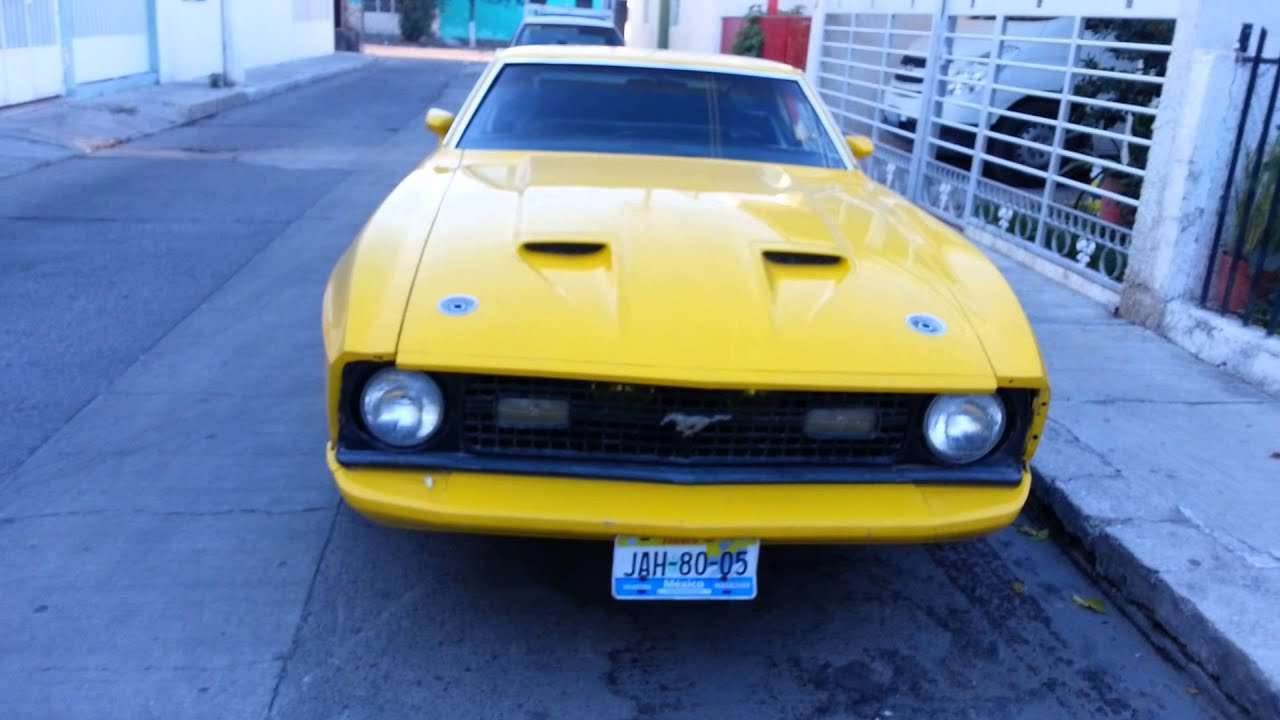 Ford mustang mach 1 one nacional 1973 manual en venta