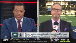 [HOT] Michael Eaves HEATED Eagles at Cowboys: Winner tonight moves into sole possession of 1st place