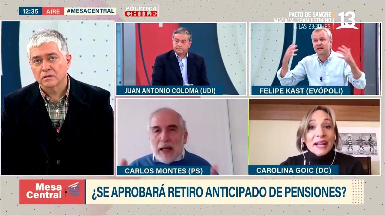 Felipe Kast vs Carolina Goic - Retiro 10% AFP