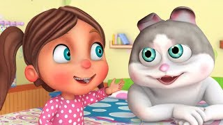 Ek Billi Humari | Hindi Nursery Rhymes | Kids Hindi Kavita | एक बिल्ली हमारी | Hindi Balgeet