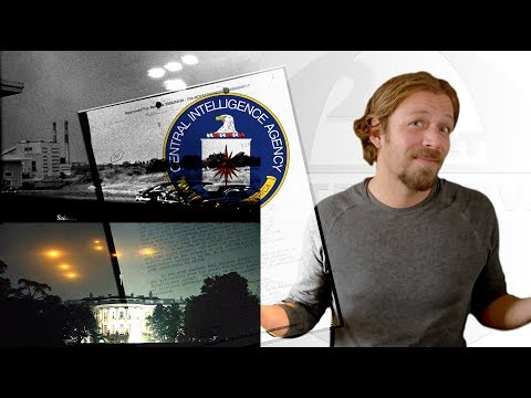 CIA UFO FILES - NEW DOCUMENT - Explosive UFO EVIDENCE 2018!