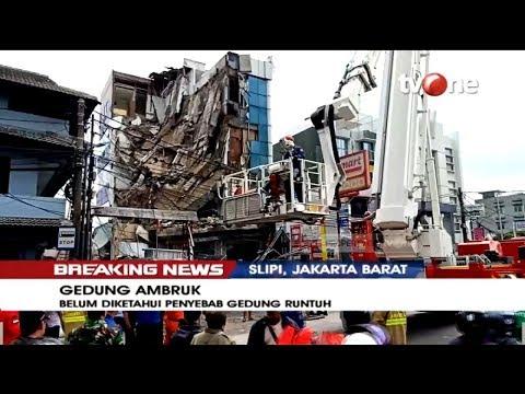 [BREAKING NEWS] Gedung Lima Lantai Roboh, Delapan Orang Terluka (6/1/2019)