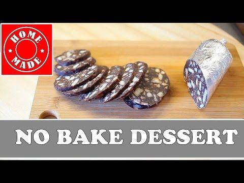 Chocolate Salami Recipe No Bake Dessert