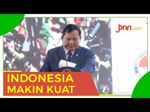 Prabowo: Terima Kasih Presiden Jokowi