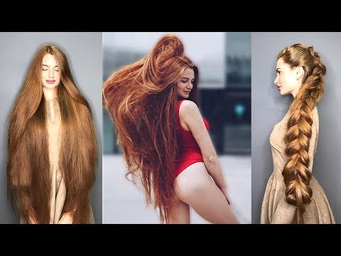 Thumbnail: Real Life Rapunzels Musical.ly - Extremely Long Hair Girls of Instagram