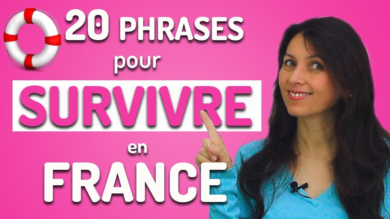 20 Phrases Indispensables pour Voyager en France   Vocabulaire français du voyage