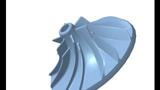 Видеоуроки Компас 21. Модель турбины