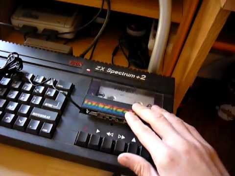 Load Games in a ZX Spectrum with an Ipod nano (or mp3 player)