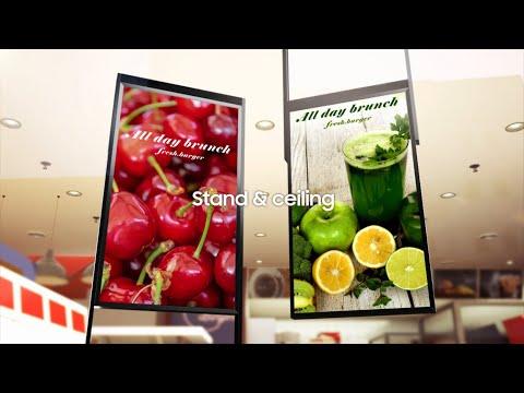 Samsung Semi-outdoor Signage: Brilliance by Design